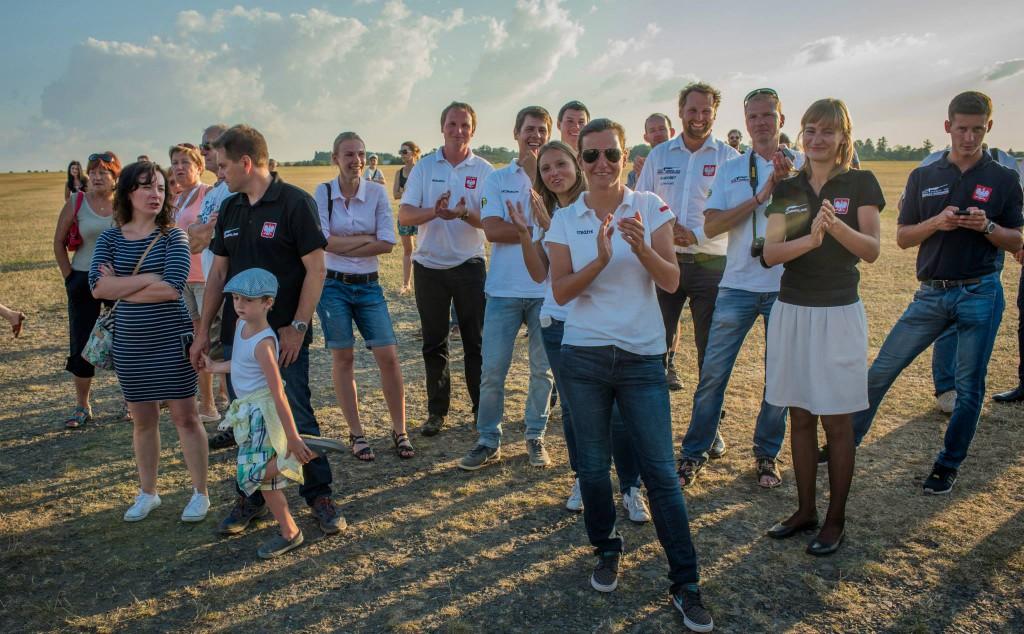 Siegerehrung, das polnische Team - Copyright: Ruda Jung
